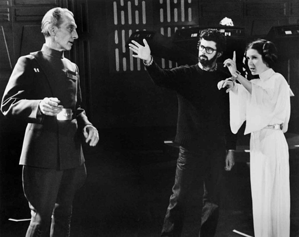 Cultura Geek Backstage fotos inédito de Star Wars