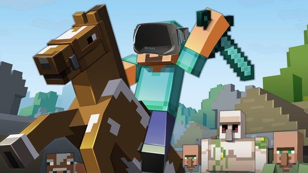 Minecraft no saldrá en Oculus Rift @culturageek