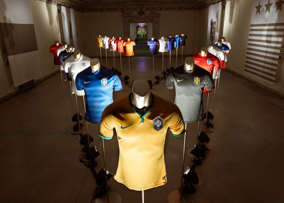 Nike presentó la indumentaria oficial de cara al Mundial Brasil 2014 @culturageek