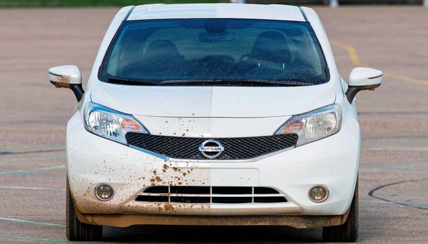 Nissan y el auto que no se ensucia @culturageek