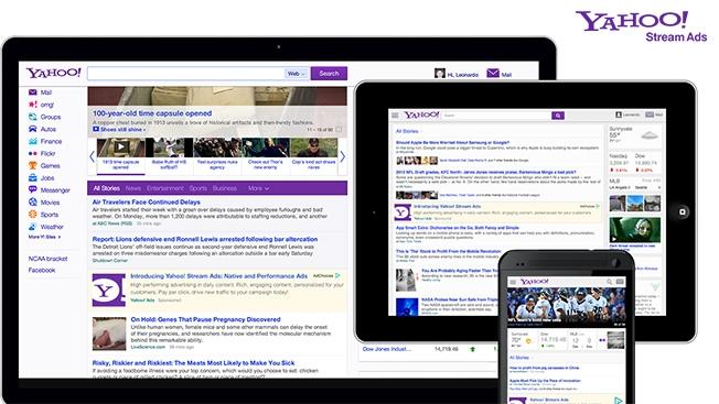 Yahoo stream Ads argentina culturageek.com.ar
