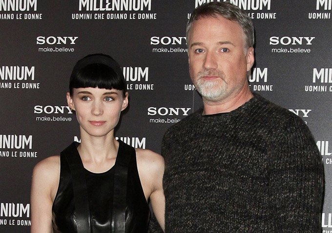 """""""The Girl With The Dragon Tattoo"""" - Rome Photocall"""