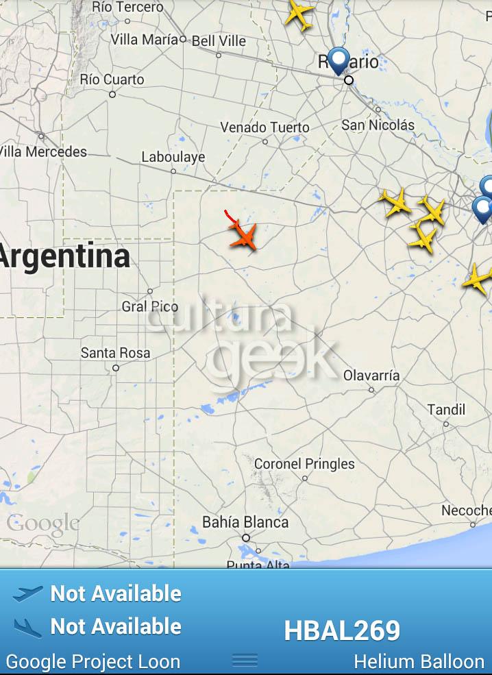 Culturageek.com.ar Google Project Loon en Argentina