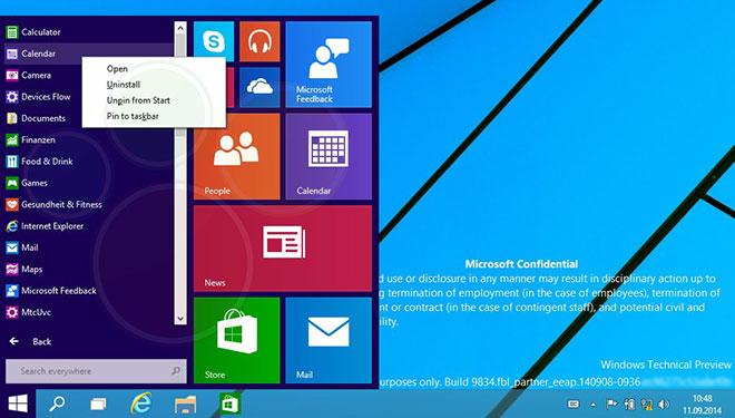 Windows 9 leak, filtrado culturageek.com.ar