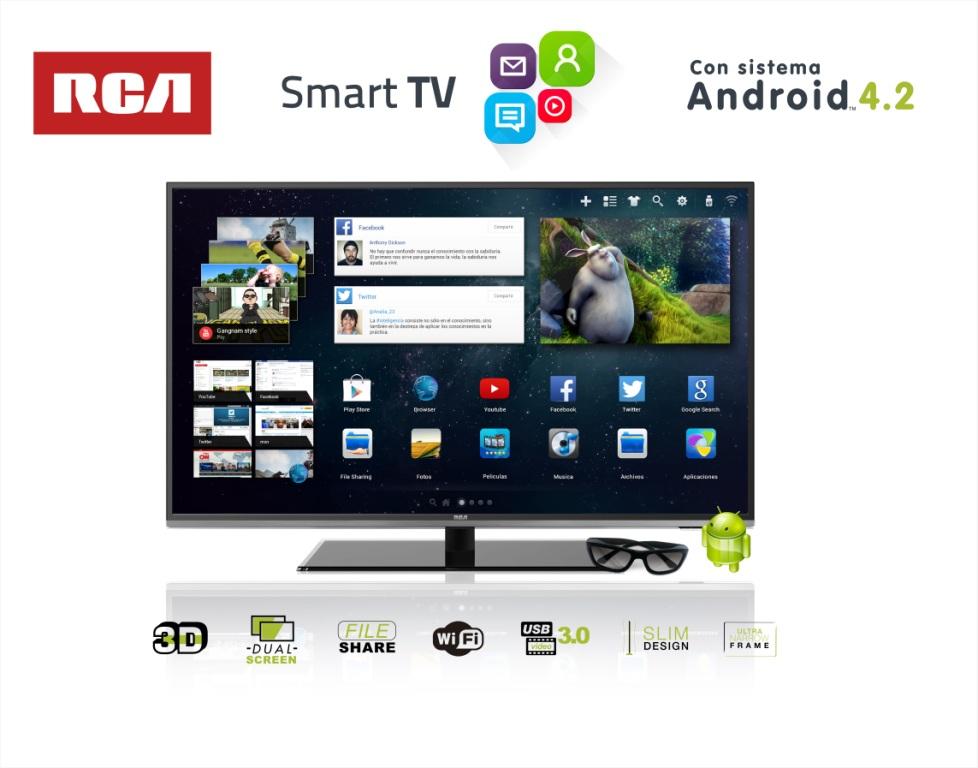 RCA Smart TV @Culturageek
