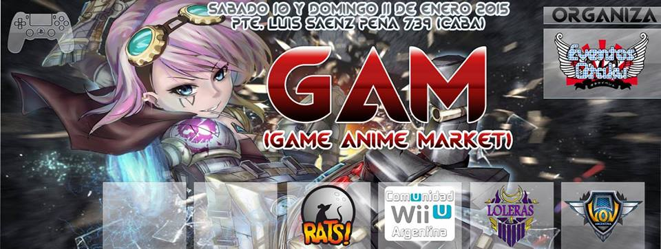 Game Anime Market 2015 @culturageek