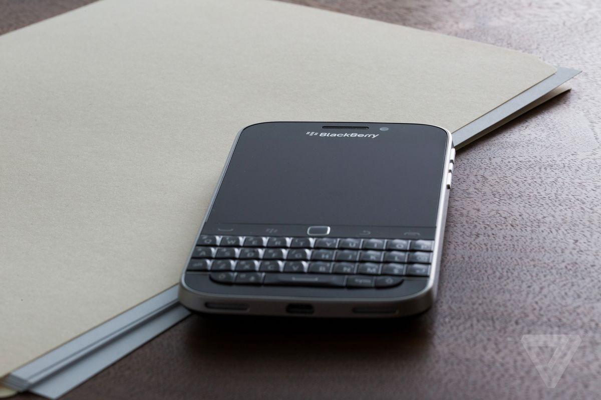 Cultura Geek Blackberry Classic 2
