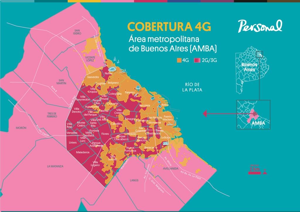 4g zonas de cobertura Argentina buenos aires culturageek.com.ar