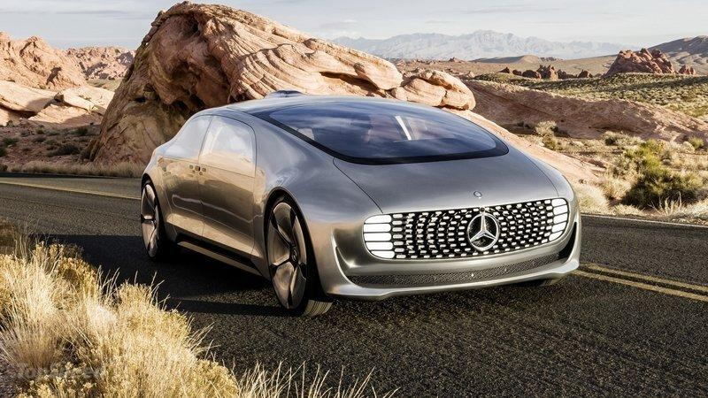 Cultura Geek Mercedes Benz CES 2015 1