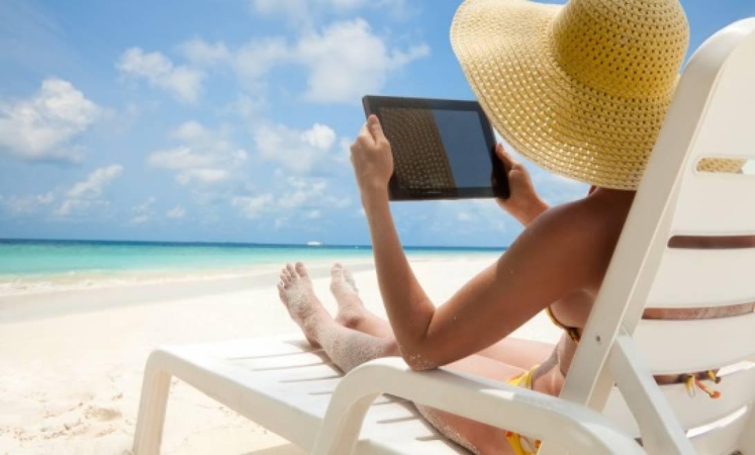 Cultura Geek playa tablet