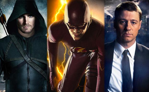 arrow-flash-gotham-cultura-geek