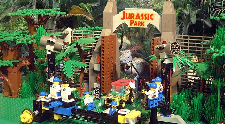 Cultura Geek LEGO Jurassic Park 1