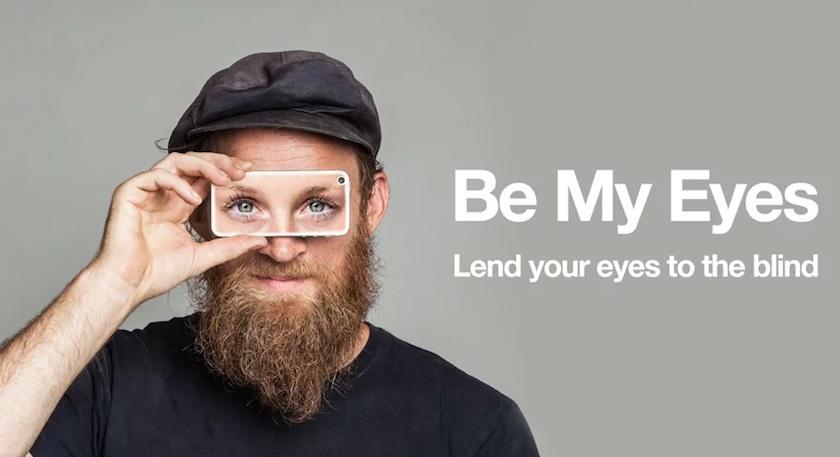 be my eyes culturageek.com.ar