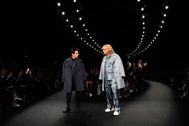 zoolander 2,  valentino paris fashion week ben stiller culturageek.com.ar
