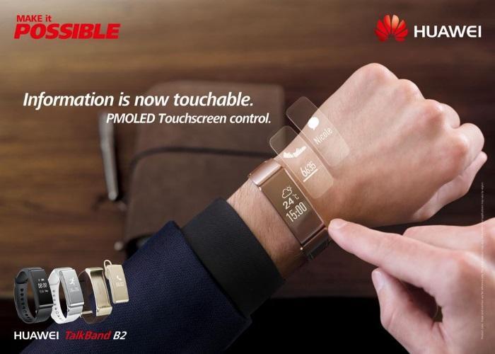 Cultura Geek Huawei Talkband b2 1