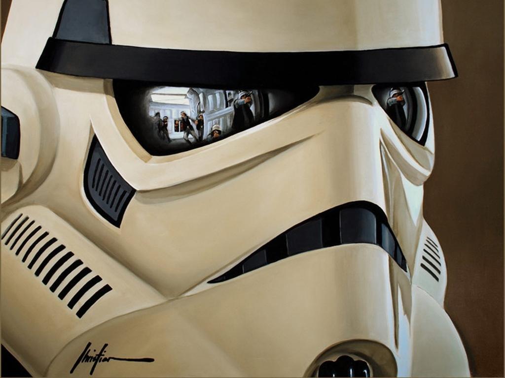 Cultura Geek Cascos Stormtrooper 1