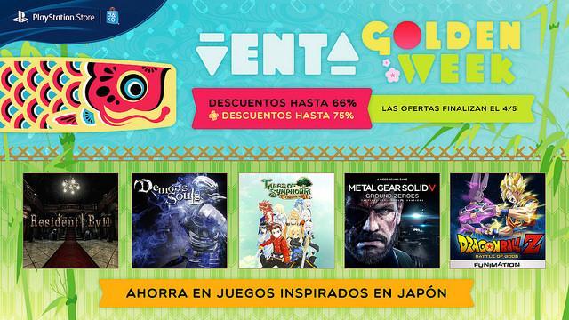 Cultura Geek Playstation Golden Week sale 1