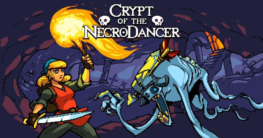 Cultura Geek Crypt of the Necrodancer 1