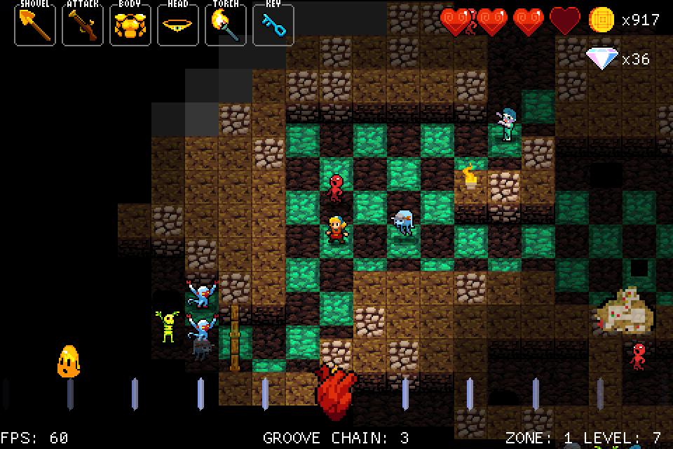 Cultura Geek Crypt of the Necrodancer 2