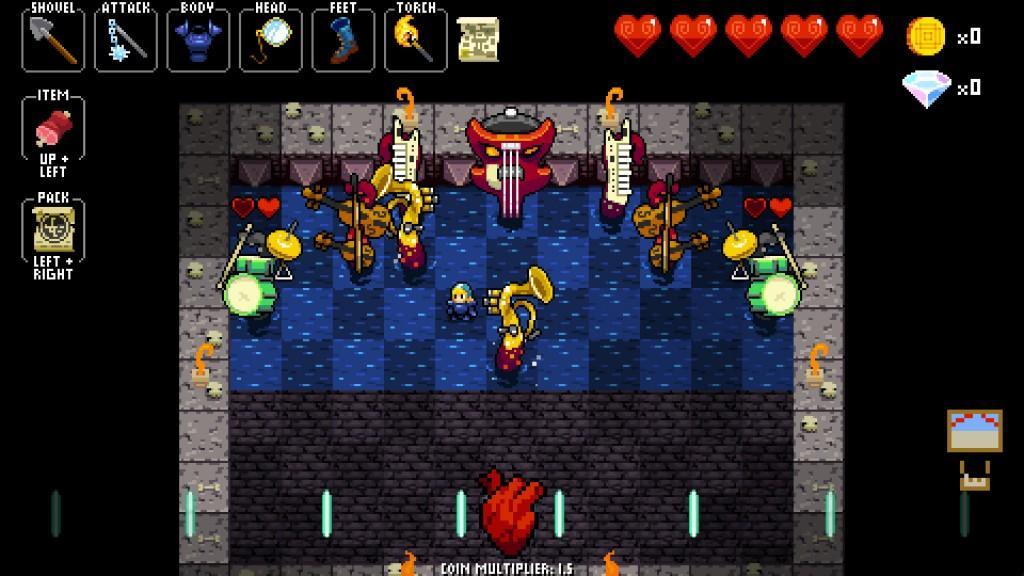 Cultura Geek Crypt of the Necrodancer 3
