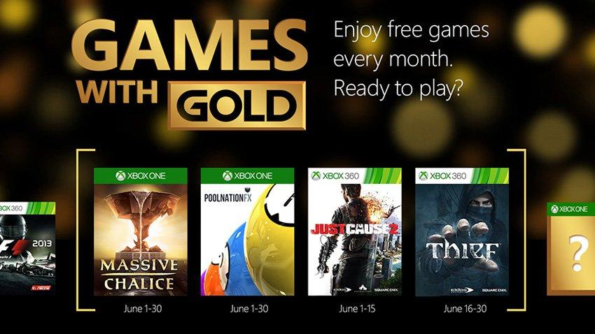 Cultura Geek Games with Gold junio 2015 1