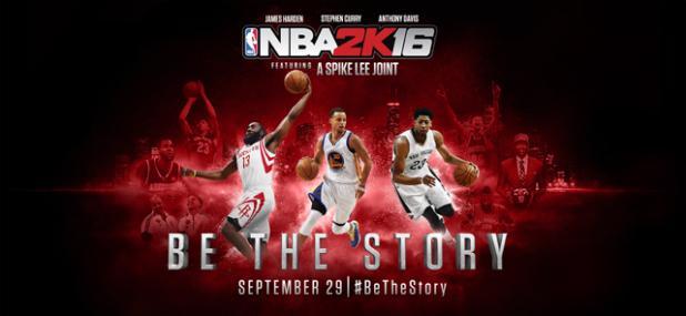 NBA 2K16 @Culturageek