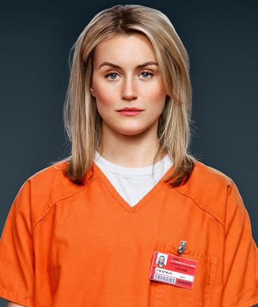 La actriz que encarna a Piper Chapman en OITNB se lastimó durante una escena de sexo