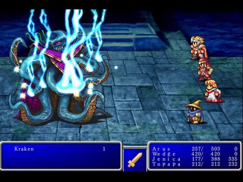 Cultura Geek Final Fantasy 1