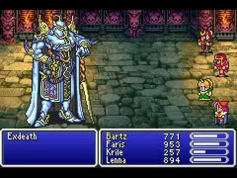 Cultura Geek Final Fantasy 5