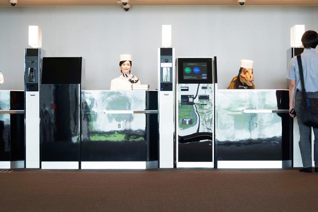 Recepcionistas robot culturageek.com.ar