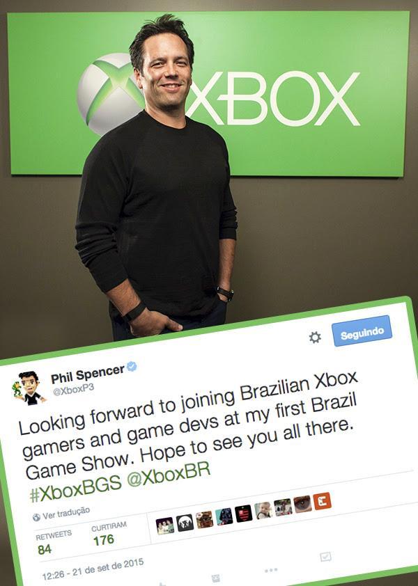 Brasil Game Show Cultura Geek Phil Spencer 1