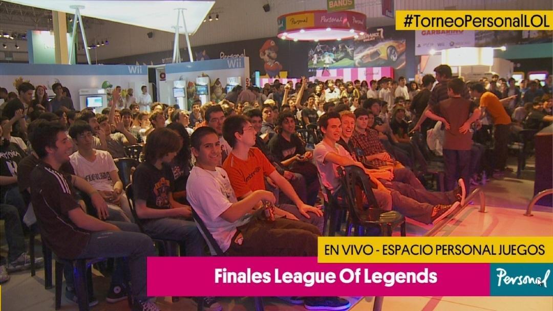 Imágenes de la final del anterior torneo de LoL en Tecnópolis.