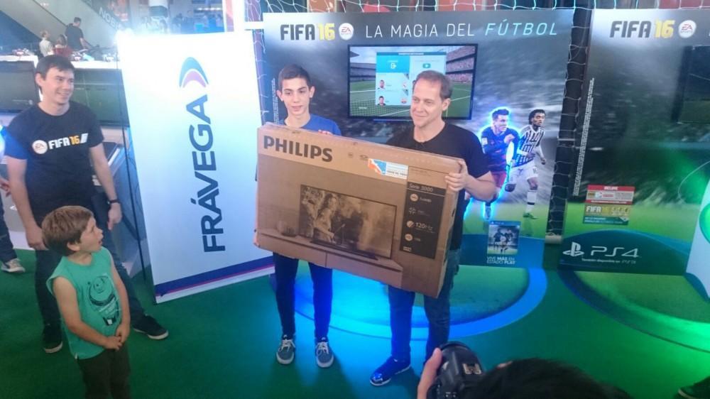 Cultura Geek Copa Frávega FIFA16 Bruno Rossini 1