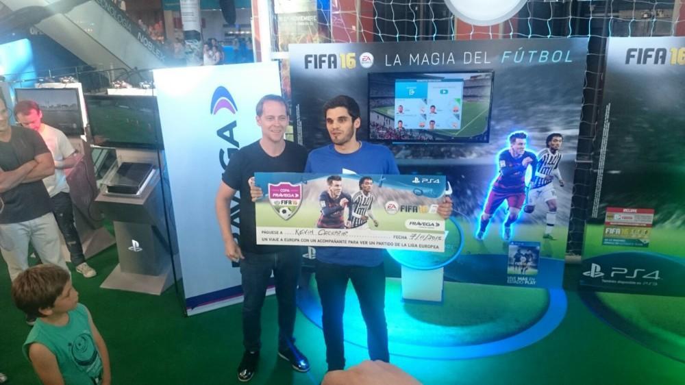 Cultura Geek Copa Frávega FIFA16 Kevin Cecchini 1