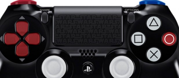 Dualshock 4 Darth Vader Ed. touchpad culturageek.com.ar