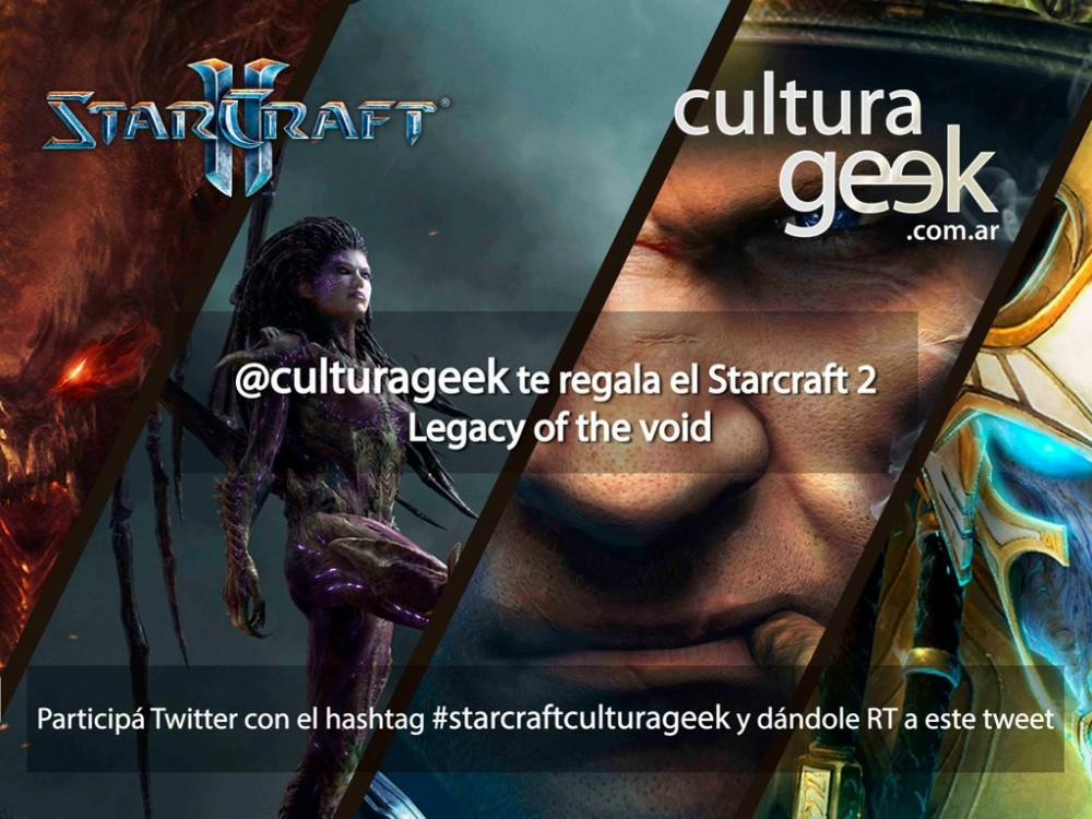 sorteo starcraft 2 legacy of the void culturageek