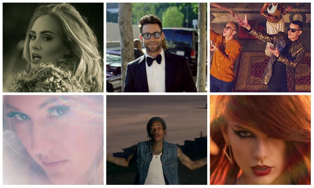 top 10 videos más vistos en Youtube - CulturaGeek.com.ar