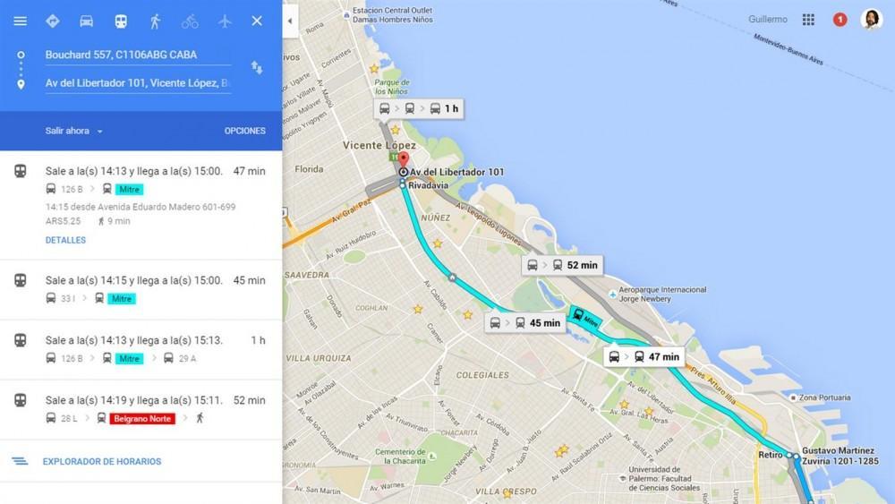Cultura Geek Google Maps Buenos Aires 1