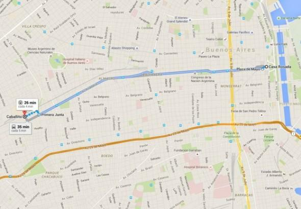 Cultura Geek Google Maps Buenos Aires 2