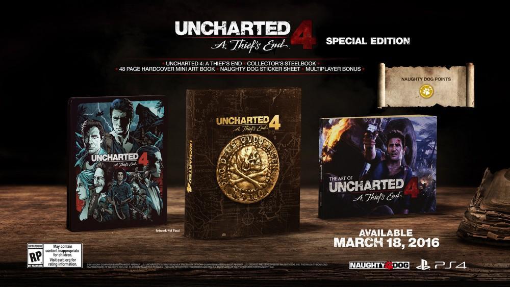 Cultura Geek uncharted 4 Edición Especial Libertalia 2