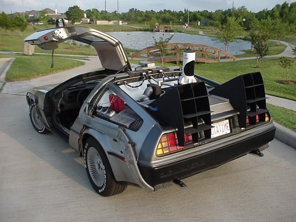 Cultura Geek DeLorean 1