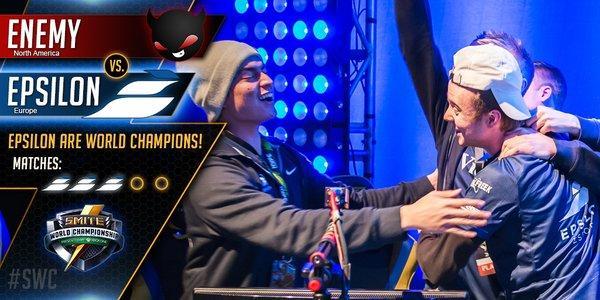 Epsilon campeón SWC Smite World Championship 2016 culturageek.com.ar