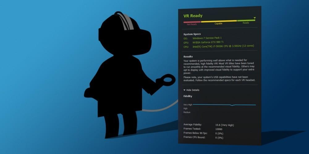 Cultura Geek SteamVR Performance Test 1