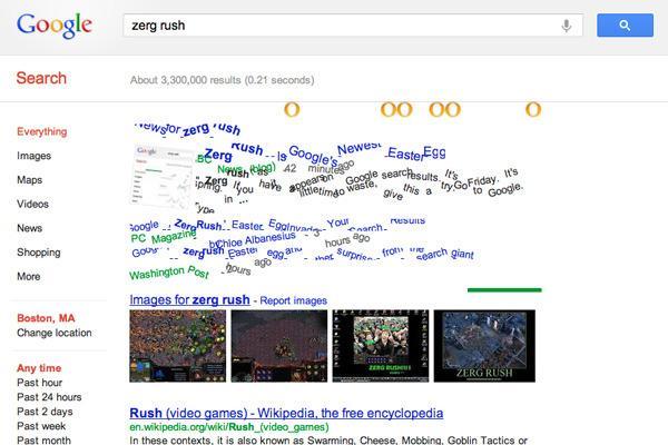 Cultura Geek Zerg Rush