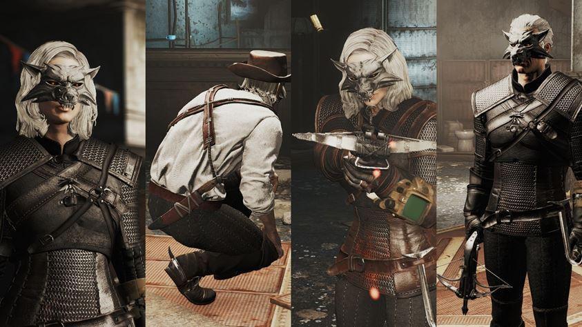 Cultura Geek mod fallout 4 Witcher 3