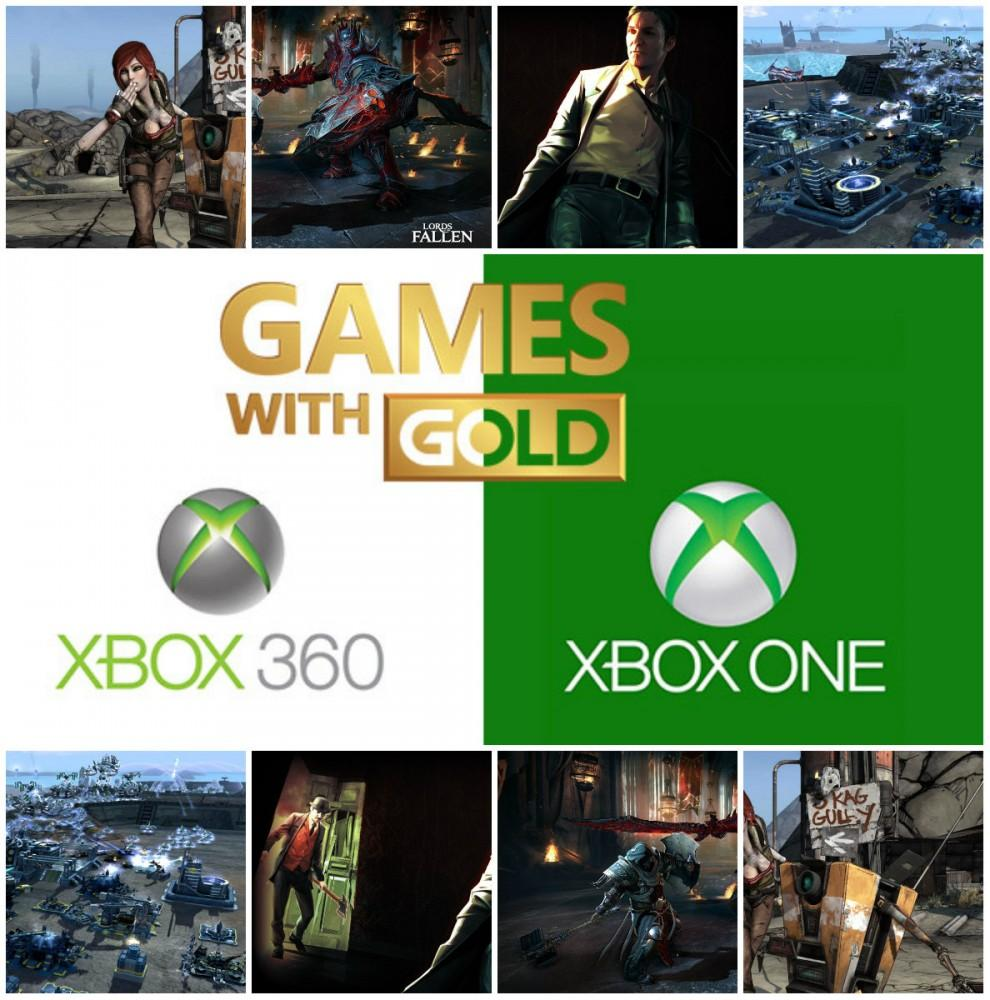 Cultura Geek Xbox Games WIth Gold Marzo 2016 Xbox