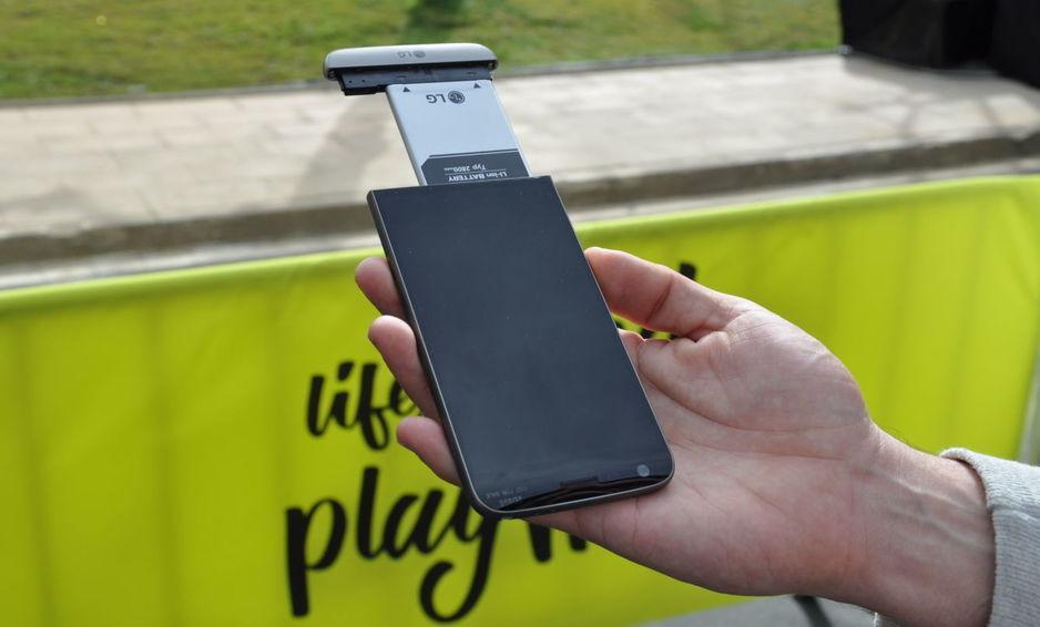 Cultura Geek LG G5 MWC 2