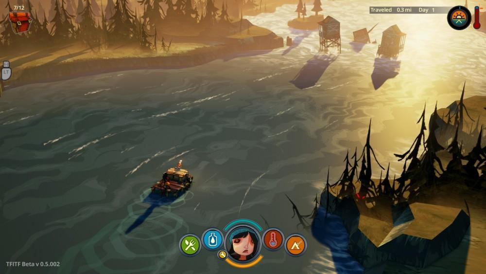 Cultura Geek The Flame in the Flood Review Destacada