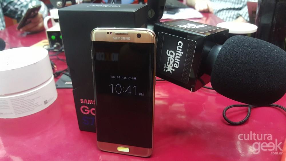 unboxing Galaxy S7 Edge argentina culturageek.com.ar