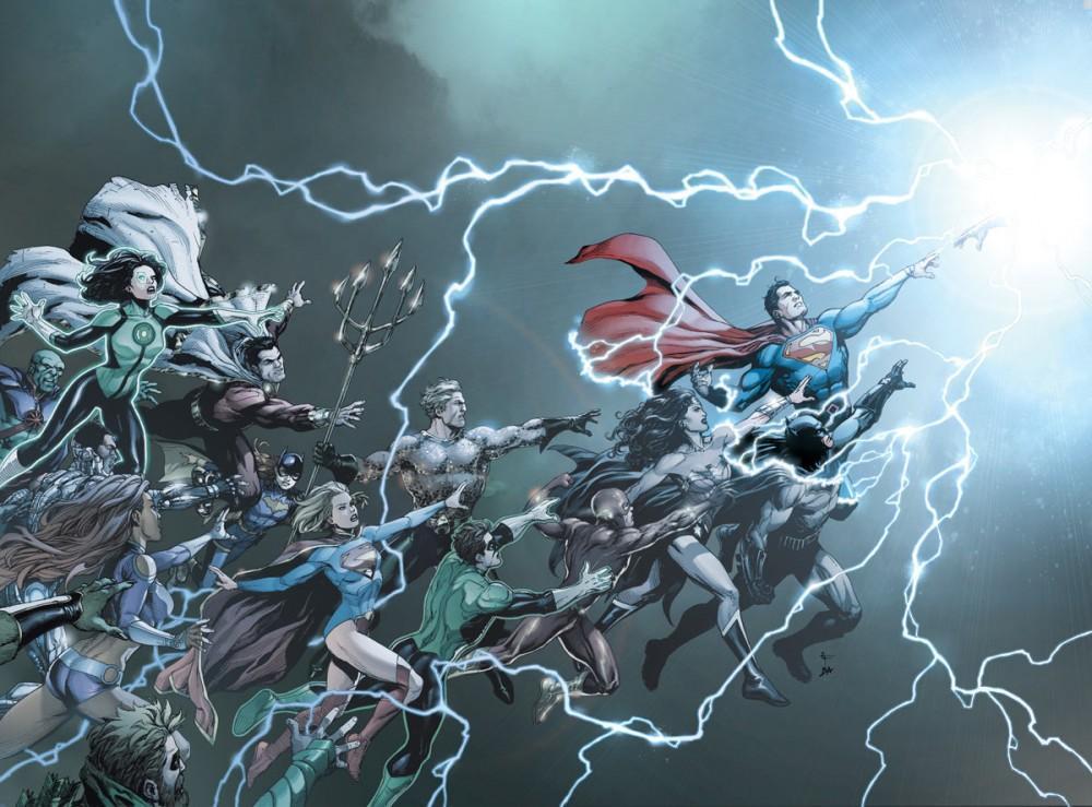 """Portada de """"DC Universe: Rebirth"""""""